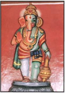 Aadiyantha Prabhu - Half Ganesha & Half Hanuman