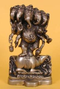 Panchamukhi Ganesha - Omnipotent, Omnipresent & Very Auspicious